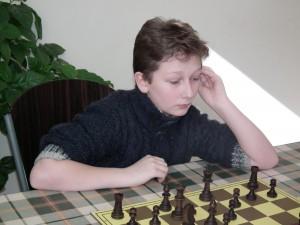 Jaszczuk Hubert 2016-03-13 7. runda Ligi Szkolnej do lat 13
