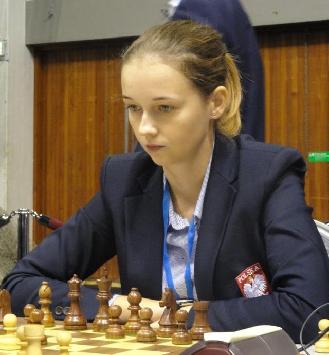 Karina Szczepkowska-Horowska jako jedyna wygrała w trudnym meczu z Rosjankami (fot. Agnieszka Fornal-Urban).