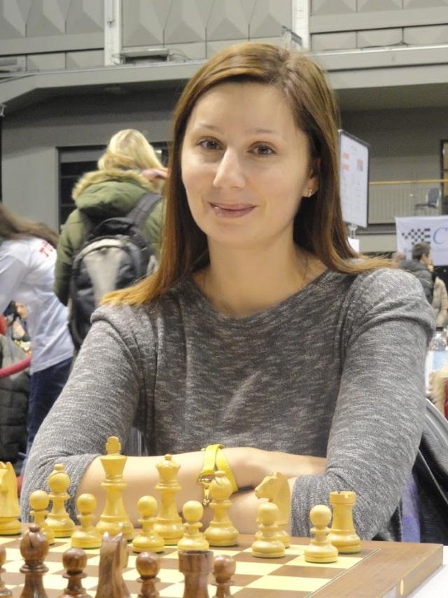 Joanna Majdan-Gajewska zdobyła złoty medal na szachownicy rezerwowej (fot. Agnieszka Fornal-Urban).