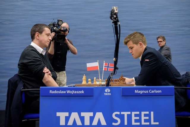 Czy Radosław Wojtaszek będzie miał szansę po raz kolejny pokonać mistrza świata (fot. Alina L'Ami)?