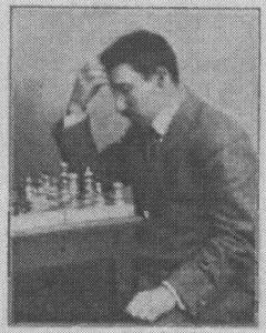 Młody Rubinstein ok. 1905 r.